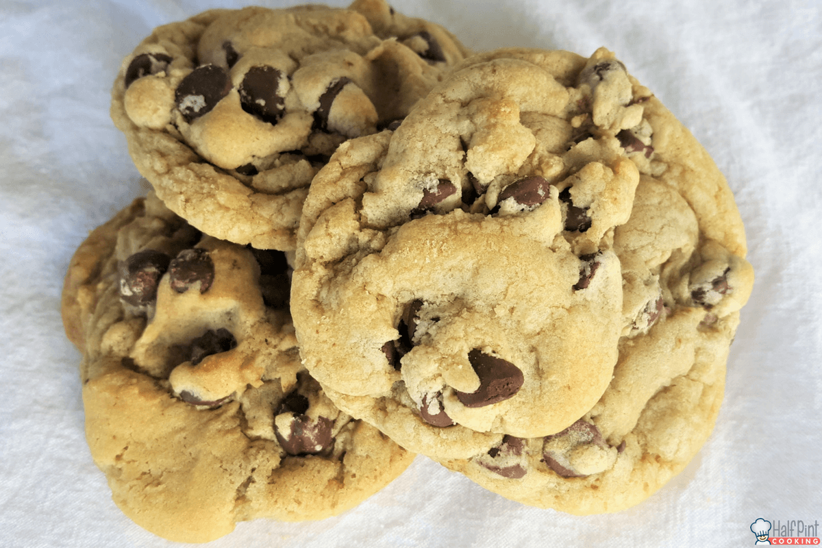 chocolate chip cookies-three