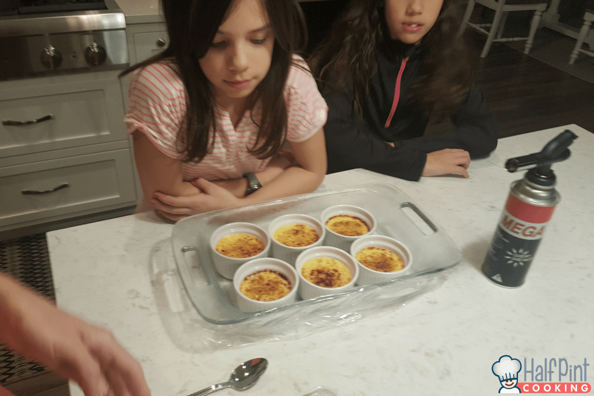 creme brulee-with kids