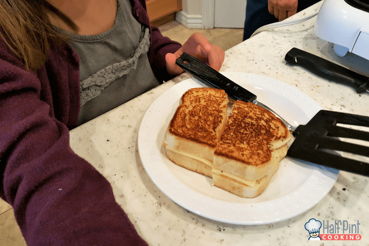 grilled cheese-done with kate