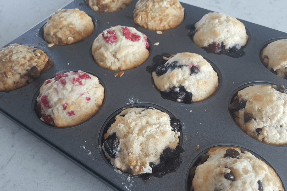 homemade muffins-featured image
