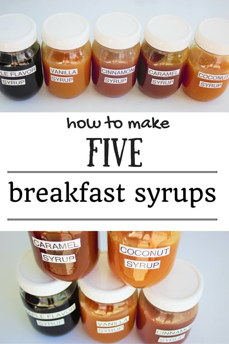 breakfast syrup-pinterest